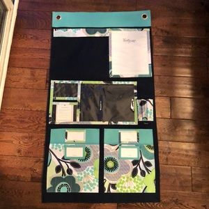 Thirty-one wall organizer